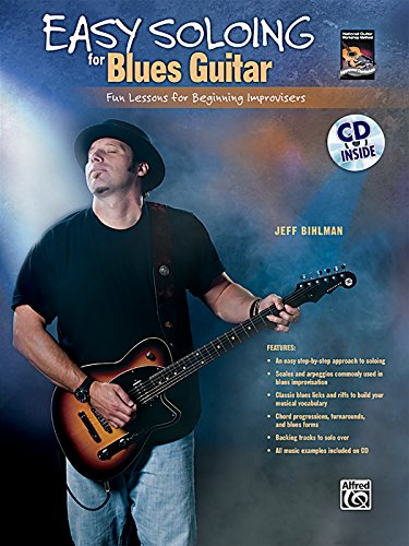 Easy Soloing for Blues Guitar Format: Book & CD