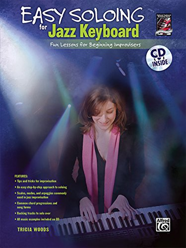 9780739052730: Easy Soloing for Jazz Keyboard: Book & CD
