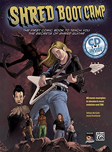 9780739052778: Shred Boot Camp: The First Comic Book to Teach You the Secrets of Shred Guitar