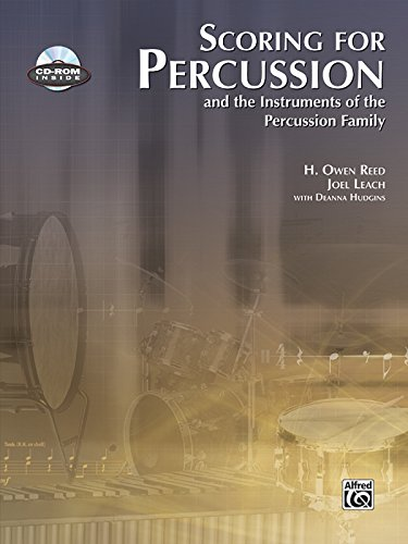 9780739052792: Scoring for Percussion: Book & CD-ROM