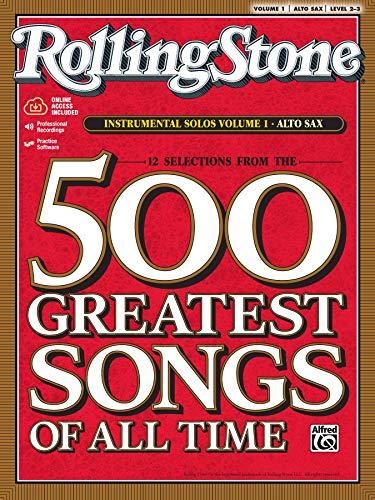 9780739052877: Rolling Stone: Instrumental Solos, Vol. 1- Alto Sax, Level 2-3