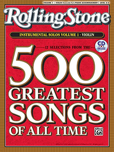 9780739052938: Selections from Rolling Stone Magazine's 500 Greatest Songs of All Time (Instrumental Solos for Strings), Vol 1: Violin, Book & CD
