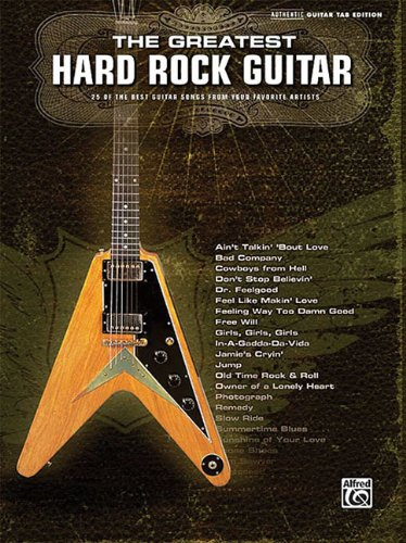 9780739053393: The Greatest Hard Rock Guitarauthentic Guitar Tab Edition (Authentic Guitar-Tab Editions)