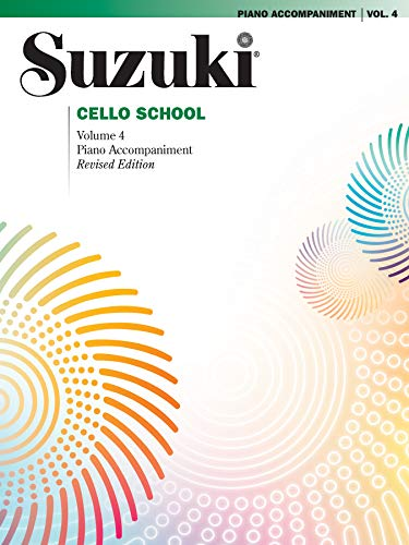 9780739053669: Suzuki Cello School Piano Acc., Vol. 4 (Suzuki Method Core Materials)