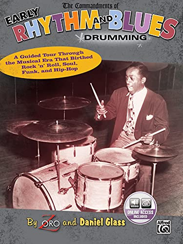 9780739053997: The Commandments of Early Rhythm and Blues Drumming