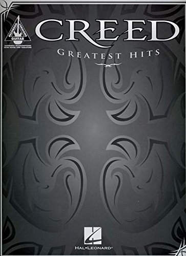 9780739054062: Creed Greatest Hits: Authentic Guitar Tab