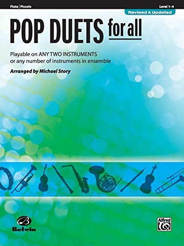 9780739054239: Pop Duets for All: Flute/Piccolo, Level 1-4: Playable on Any Two Instruments or Any Number of Instruments in Ensemble (Pop Instrumental Ensembles for All)