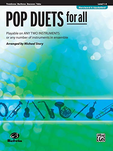 9780739054291: Pop Duets for All: Trombone/Baritone/Bassoon/Tuba, Level 1-4: Playable on Any Two Instruments or Any Number of Instruments in Ensemble (Pop Instrumental Ensembles for All)