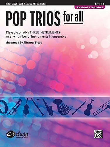 9780739054376: Pop Trios for All: E-flat Alto Saxophone (E-flat Saxes and E-flat Clarinets)