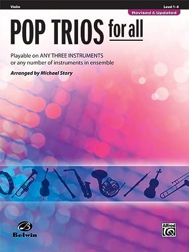 9780739054420: Pop Trios for All: Violin: Level 1-4