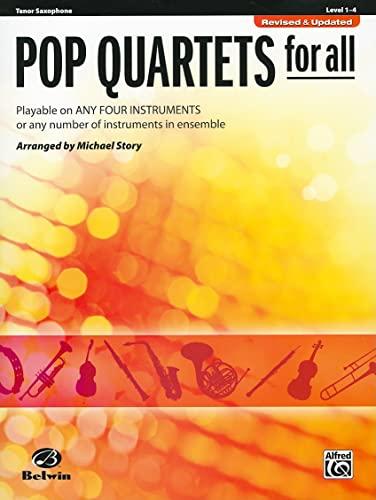 9780739054543: Pop Quartets for All: Tenor Saxophone (Instrumental Ensembles for All)