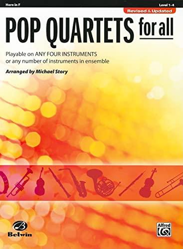 9780739054567: Pop Quartets for All: Horn in F (Pop Instrumental Ensembles for All)