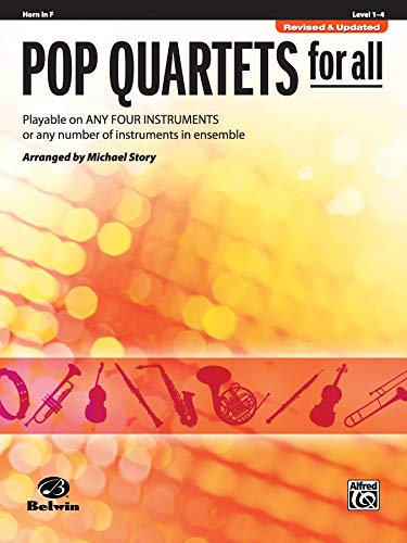 Pop Quartets for All: Horn in F