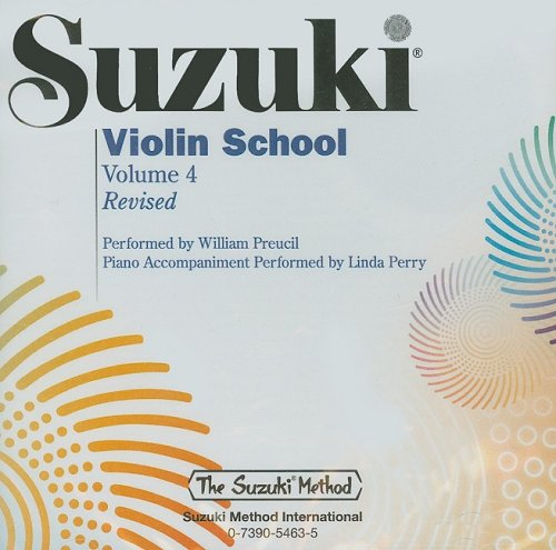 Suzuki Violin School, Vol. 4 (The Suzuki Method Core Materials) (9780739054635) by William Preucil; Linda Perry