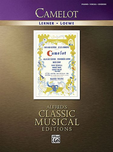 9780739054895: Camelot Piano/Vocal/Chords (Alfred's Classic Musical Editions)