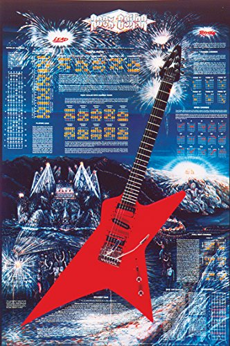 9780739055151: Rock Guitar Poster (Poster)