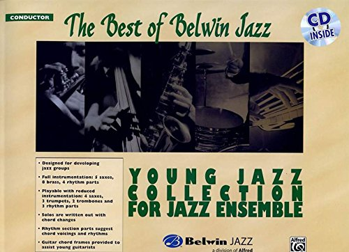 9780739055274: Best of Belwin Jazz Yng Score Bk/CD (Young Jazz Collection for Jazz Ensemble)