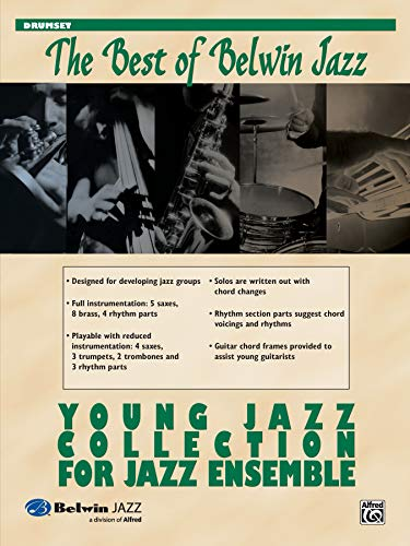 9780739055441: Young Jazz Collection for Jazz Ensemble: Drums