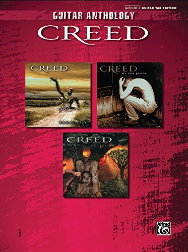 9780739055670: Guitar Anthology Creed: Authentic Guitar Tab