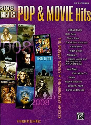 2008 Greatest Pop Movie Hits: The Biggest