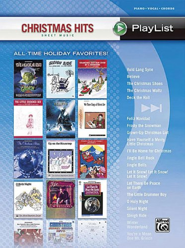 9780739055946: Christmas Hits Sheet Music Playlist Piano/Vocal/Chords