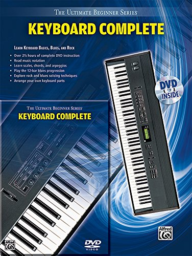Ultimate Beginner Keyboard: Complete (Book & DVD (Hard Case)) (The Ultimate Beginner): Staff