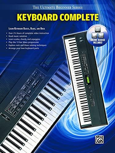9780739056134: Ultimate Beginner Keyboard Complete: Learn Keyboard Basics, Blues, and Rock, Book & DVD (Sleeve) (The Ultimate Beginner Series)