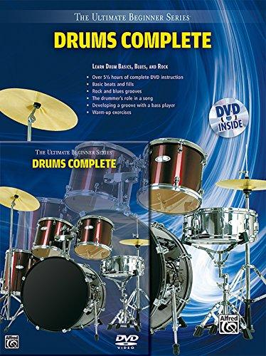 9780739056202: Ultimate Beginner Drums: Complete (Book & DVD (Hard Case))