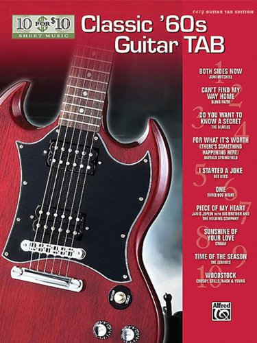 9780739056479: Classic '60's Guitar Tab Easy Guitar Tab Edition (10 for 10 Sheet Music)