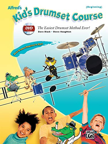 9780739056547: Alfred's Kid's Drumset Course: The Easiest Drumset Method Ever! (Book & DVD)