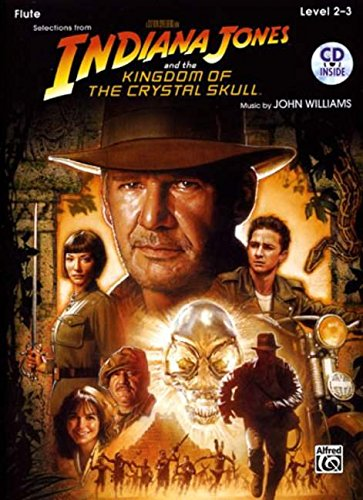 9780739056608: Indiana Jones and the Kingdom of the Crystal Skull Instrumental Solos: Flute, Book & CD (Pop Instrumental Solos Series)