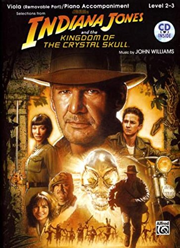 9780739056691: Indiana Jones and the Kingdom of the Crystal Skull Instrumental Solos for Strings: Viola, Book & CD (Pop Instrumental Solos Series)