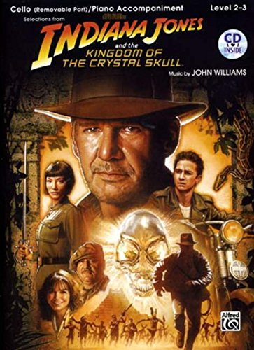 9780739056707: Indiana Jones and the Kingdom of the Crystal Skull Instrumental Solos for Strings: Cello, Book & CD (Pop Instrumental Solos Series)