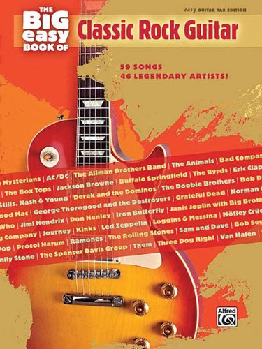 9780739056745: The Big Easy Book Of Classic Rock Guitar (The Big Easy Guitar Series)