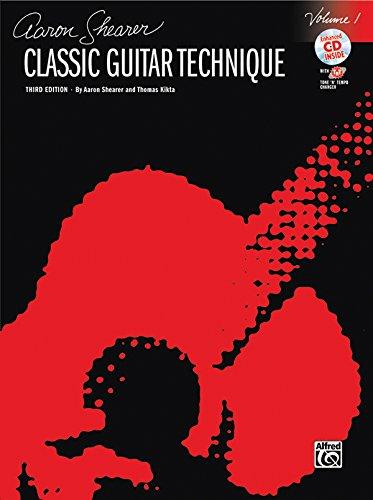 9780739057100: Classic Guitar Technique, Vol 1 (Book & CD) (Shearer Series)