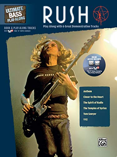 9780739057131: Ultimate Bass Play-Along Rush: Play Along with 6 Great Demonstration Tracks (Authentic Bass TAB), Book & CD (Ultimate Play-Along)