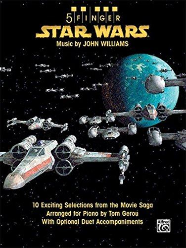 9780739057193: 5 Finger Star Wars: 10 Exciting Selections from the Movie Saga Arranged for Piano With Optional Duet Accompaniments