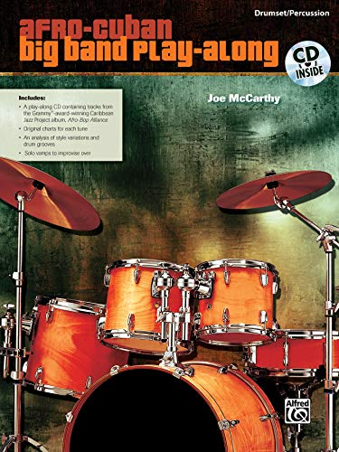 9780739057223: Afro-Cuban Big Band Play-Along: Drumset/Percussion