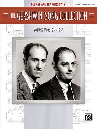 9780739057254: The Gershwin Song Collection (1931-1954): Piano/Vocal/Chords - Sheet Music