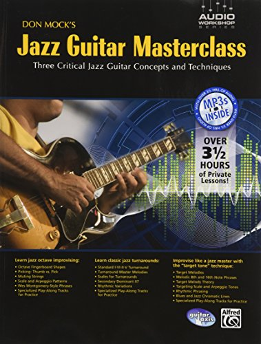 9780739057575: Don Mock's Jazz Guitar Masterclass: Three Critical Jazz Guitar Concepts and Techniques (Audio Workshop)