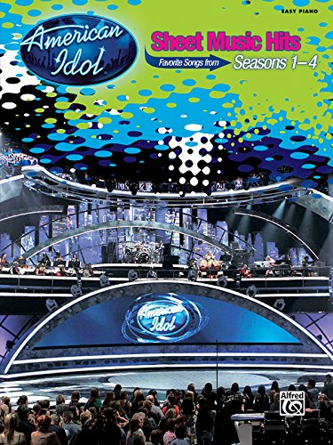9780739057773: American Idol Sheet Music Hits, Seasons 1-4: Easy Piano