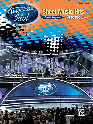 9780739057780: American Idol Sheet Music Hits, Seasons 5-7: Easy Piano