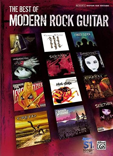 9780739057957: The Best of Modern Rock Guitar: Authentic Guitar Tab