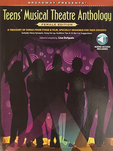 9780739057971: Broadway Presents] Teens' Musical Theatre Anthology Female Edition CD Included PVG