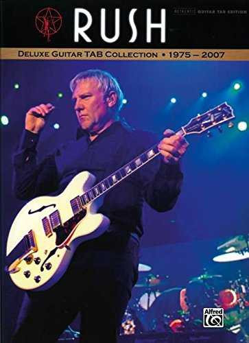 9780739058107: Rush Deluxe Guitar Tab Collection 1975-2007: Authentic Guitar Tab Ediiton