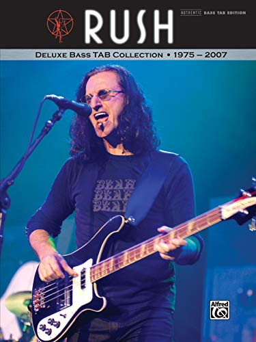9780739058114: Rush -- Deluxe Bass Tab Collection 1975 - 2007: Authentic Bass Tab