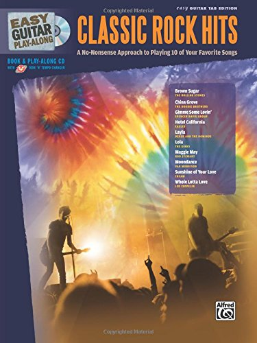 9780739058169: Easy Guitar Play-along Classic Rock Hits: Easy Guitar Tab Edition