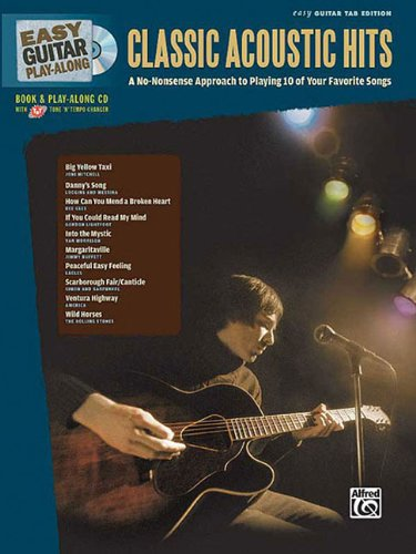 9780739058176: Easy Guitar Play-Along Classic Acoustic Hits Easy Guitar Tab Edition (Easy Play-Along)