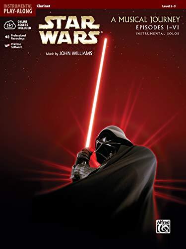9780739058206: Star Wars A Musical Journey Episodes I-VI: Clarinet (Pop Instrumental Solo Series)