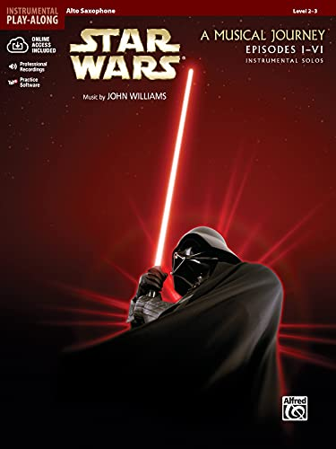 9780739058213: Star Wars Instrumental Solos (Movies I-VI): Alto Sax, Book & CD (Pop Instrumental Solos Series)